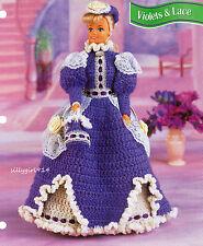 """DRESS~HAT~PURSE""~Crochet PATTERN~PATTERN ONLY fits BARBIE FASHION DOLL"