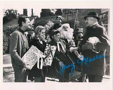 BEWITCHED signed photo Christmas Elf midget TV Elizabeth Montgomery mint Oz RARE