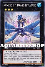 Yu-Gi-Oh! Numero 17 Drago Leviatano SP13-IT023 Leviathan Dragon Carta di yuma
