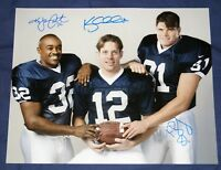 Kerry Collins Ki-Jana Carter Kyle Brady Signed 16x20 Photo Penn State Auto COA