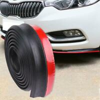 2.5m Car Auto Front Bumper Lip Splitter Body Spoiler Skirt Rubber Protector Foam