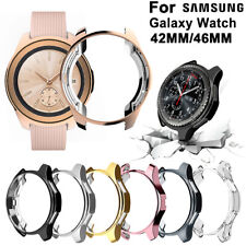 For Samsung Galaxy Watch Screen Protector Case TPU Bumper  Cover 42mm 46mm Shell