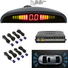 Reversing Parking Radar Sensor Car Vehicle 8 Sensors Audio Buzzer Alarm Blue