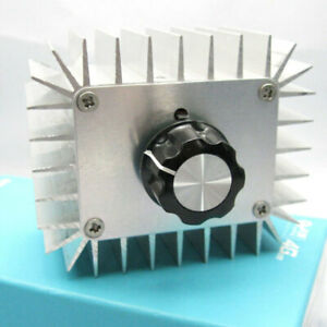 AC 220V 5000W SCR Voltage Regulator Dimmer Electric Motor Speed Controller KUX