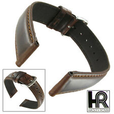 Hadley Roma MS881 20mm Brown XL Long Oil Tan Leather Mens Watch Strap SPO