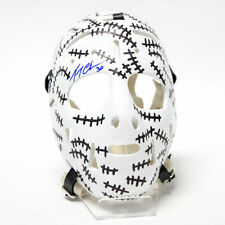 Gerry Cheevers Boston Bruins Autographed Full Size Replica Stitched Goalie Mask