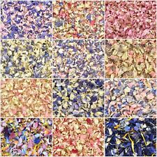 Pink Delphinium Petal WEDDING CONFETTI Real Flutter Petal Natural Biodegradable