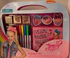 JoJo Siwa Stamper Set Kids Activity Arts & Crafts NEW