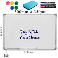 Large Magnetic Dry Wipe Whiteboard Home School Drawing Board&Office Notice Board
