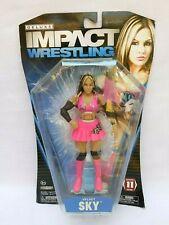 WWE TNA Deluxe Impact Series 11  VELVET SKY Diva Wrestling Action Figure Jakks