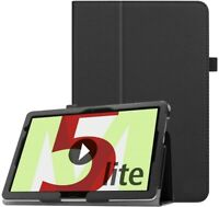 """For Huawei MediaPad M5 lite Case Leather Folio Stand Cover  (10.1"""")"""