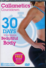 Callanetics Countdown 30 Days to A More Beautiful Body DVD NEW
