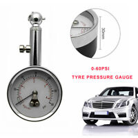 Portable Tyre Pressure Reader Gauge Tool with Box Fit Car and Bike(PSI & BAR) AU