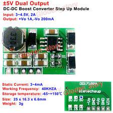 DC-DC Step-up Boost Converter ±5V Dual Ouput 3V-4.5V to 5V Positive & Negative