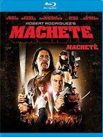 New BluRAY - MACHETE - Danny Trejo, Steven Seagal , Robert de Niro , Jessica Alb