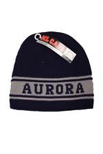Aurora University Adult Unisex Royal Blue/Gray Reversible Beanie, One Size