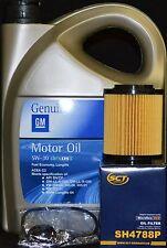5 Liter GM / Opel 5W30  Motoröl + SH4788P Ölfilter OPEL Meriva Zafira Astra