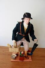 OOAK Doll Norma Mellen NIADA artist from NH,Doll Pedler with all original items