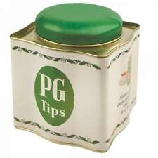 PG TIPS RETRO TEA CADDY STORAGE CONTAINER CANISTER TIN