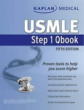 Kaplan Medical USMLE Step 1 Qbook (Kaplan Usmle), Kaplan, New Book