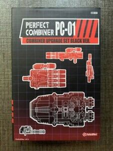 Transformer Combiner Wars G1 Upgrade Set Kit Black Ver. Perfect Combiner PC-01