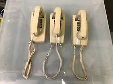 LOT OF (3) CETIS SCIENTIFIC HAC AEGIS 2554W CORDED TELEPHONES