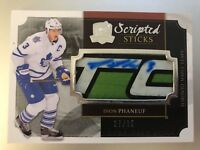 2013-2014 THE CUP Dion Phaneuf SCRIPTED STICKS AUTO PATCH #27/35