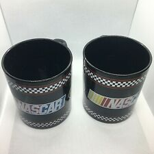 Nascar Mug Nextel Cup Series Lot of 2 with Coasters Lids Official Hologram
