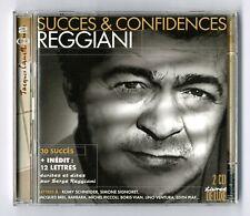 DOUBLE 2 CD ★ REGGIANI - SUCCES & CONFIDENCES ★ ALBUM 42 TITRES ANNEE 2003