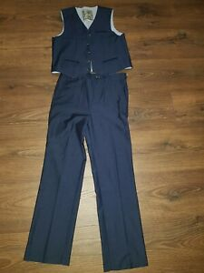 Blue Boys 2 Piece Suit By Monsoon Age 10
