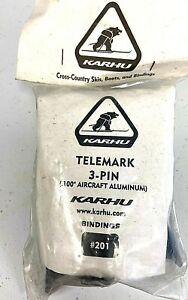 Karhu XC Ski Bindings Telemark (75 mm BC) NWT Nordic Cross Country 3 PIN