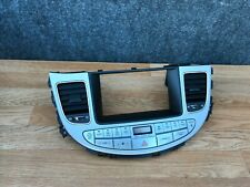 HYUNDAI GENESIS SEDAN TEMPERATURE CLIMATE CONTROL PANEL WITH AC VENT (09_13)