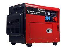 Matrix PG 6000-D-Silent Stromgenerator, Stromaggregat, Rot/Schwarz, Diesel