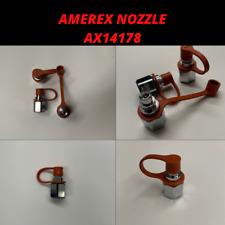 Amerex Nozzle 14178, Ax14178. With Caps.