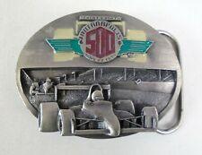1995 Indianapolis 500 Event 3D Belt Buckle Jacques Villeneuve Team Green
