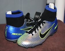 Nike Jr Mercuril Victory 6 Df Njr Fg Sz 4 Youth Soccer Cleats Neymar