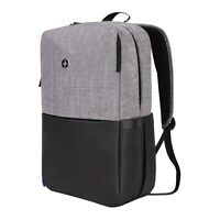 Swiss Digital Unisex Varsity Joule Grey and Black USB-Charging Backpack SD-07S