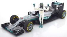 Minichamps Mercedes AMG F1 W07 Hybrid World Champion 2016 Rosberg #6 1/18 New!