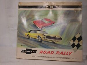 CHEVROLET ROAD RALLY 1967 Slot car set Republic Tool w CARS Dealer Promo Chevy