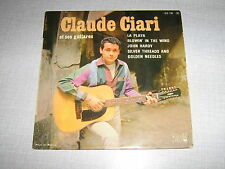 CLAUDE CIARI EP FRANCE BOB DYLAN