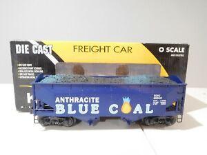 K-Line Lionel K6252-1931 RDG Blue Coal Die Cast Smooth Side 2 Bay Hopper