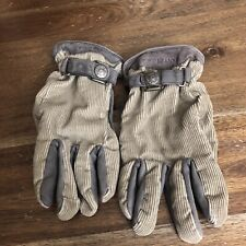 Gant Usa Gloves 100% Leather Rn 36543 Size Small Brown