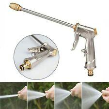 High Pressure Water Spray Gun Metal Brass Nozzle Garden Hose Pipe Lawn Car Wash.