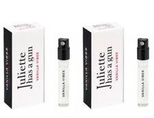 2 x Juliette Has A Gun Vanilla Vibes EDP 1.7 ml Vial Sample Spray Travel Trial