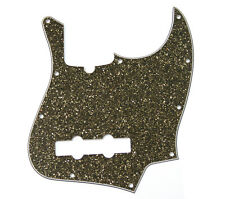Genuine Fender Black Glass Sparkle Custom J Jazz Bass Pickguard 099-2178-000
