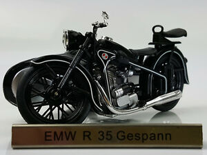 1/24 Atlas EMW R35 Gespann Motorcycle with sidecar combination