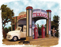 BAR MILLS BUILDINGS 552 HO Texaco Gas Station Shady Grove Railroading FREE SHIP
