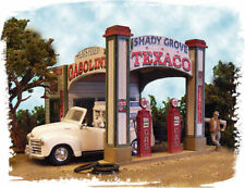 BAR MILLS BUILDINGS 552 Ho Texaco Gas Station Shady Grove Railroading FREE SHIP