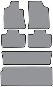 6pc Cutpile Carpet Floor Mat for 2001-2007 Toyota Sequoia