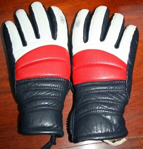 Killy Leather ski gloves. Bought early 90,s. Mens size small. Great patina.